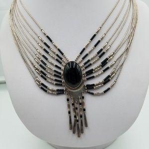 Jewelry - Navajo Sterling Silver 10 Liquid Silver Strands